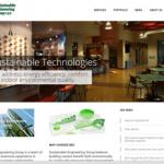 sustainable engineering group website design