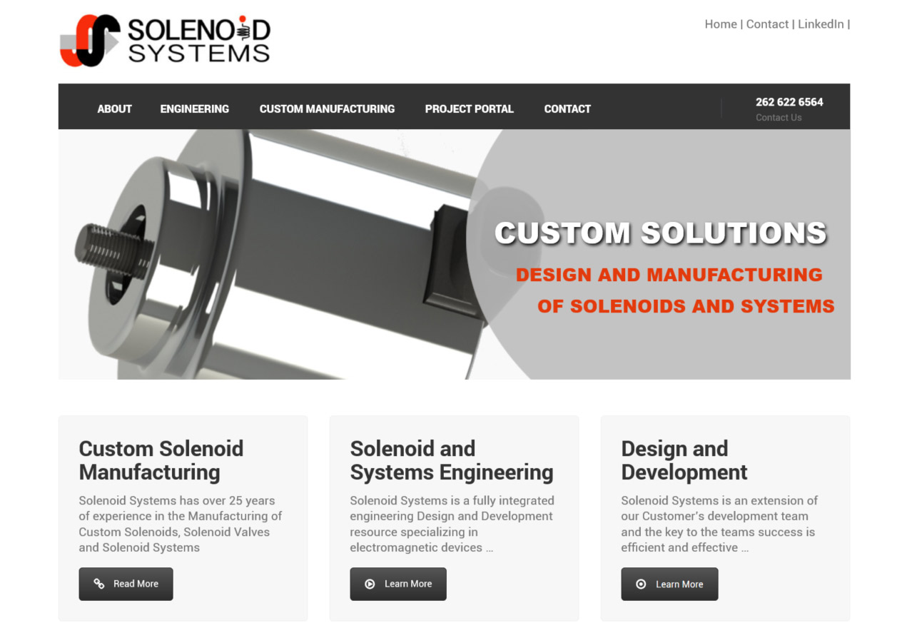 solenoid systems - custom manufacturing