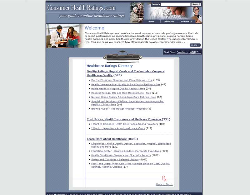 Consumer Health Ratings - Custom Creative