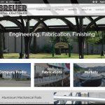 breuer metal website design