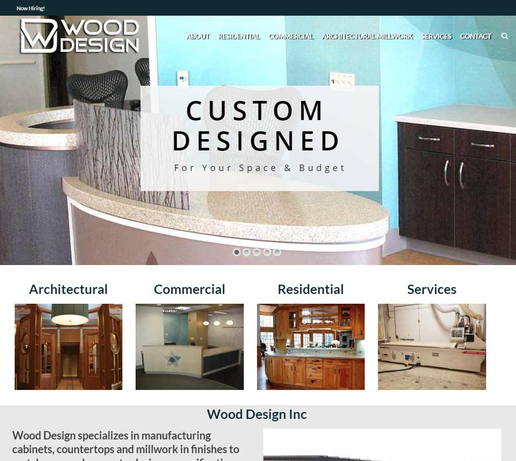 wood design inc website